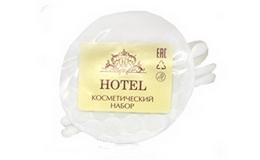 """Косметический набор """"Hotel"""" в прозрачной упаковке"""