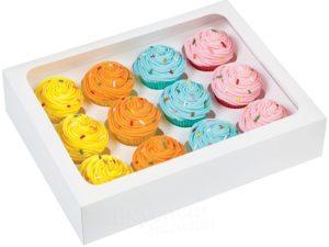 коробки для капкейков и маффинов 3