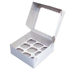 коробки для капкейков и маффинов 2