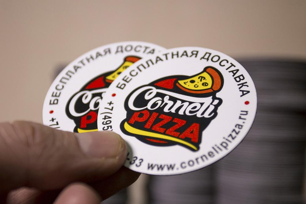 наклейки с логотипом 2