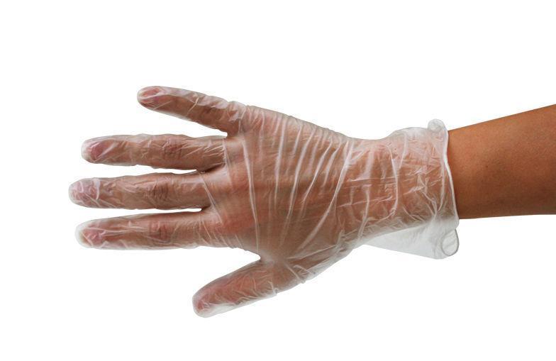 Виниловые перчатки 2